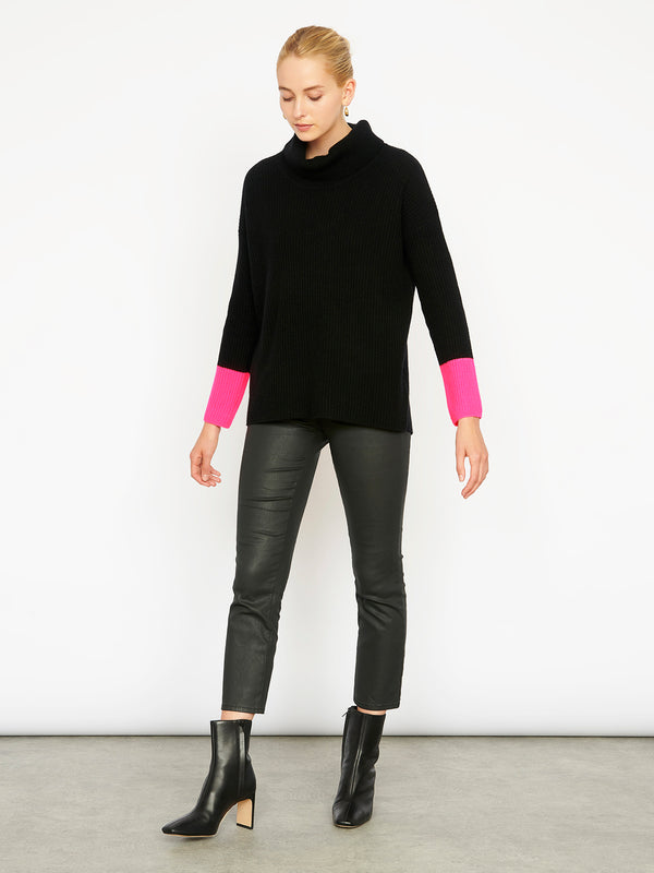 Selene Black Jumper