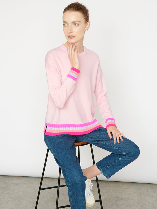 Eleanor Pink Jumper