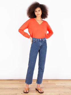 Essential Siren V Neck Cashmere Jumper