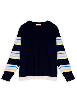 Sabra Navy Jumper