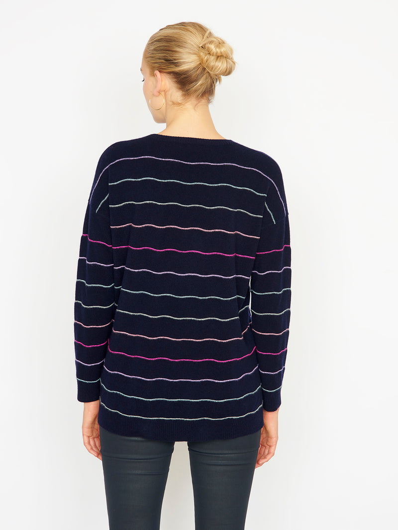 Mila Navy Jumper