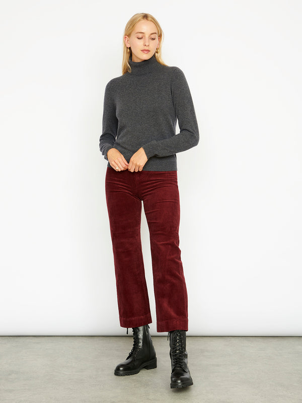 Essential Ash Cashmere Roll Neck