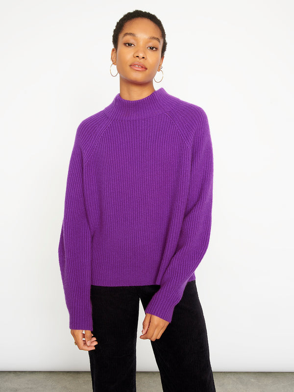 Erin Purple Jumper