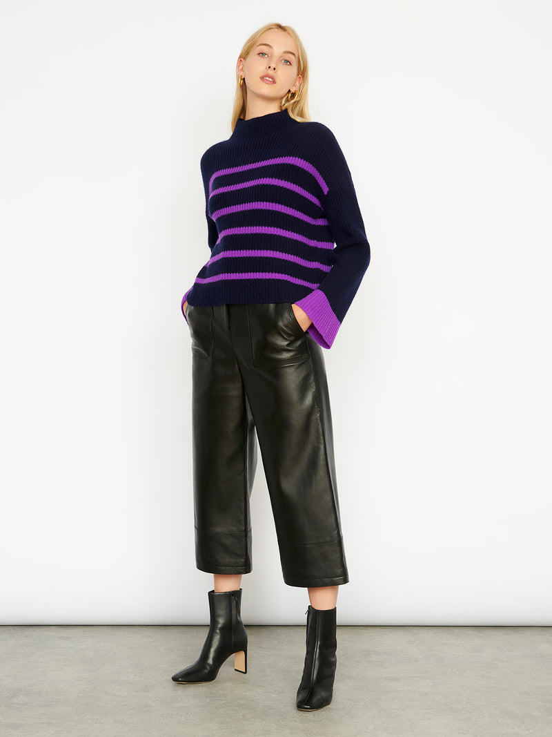 Robyn Navy/Purple Jumper