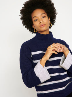 Robyn Navy/Grey Jumper