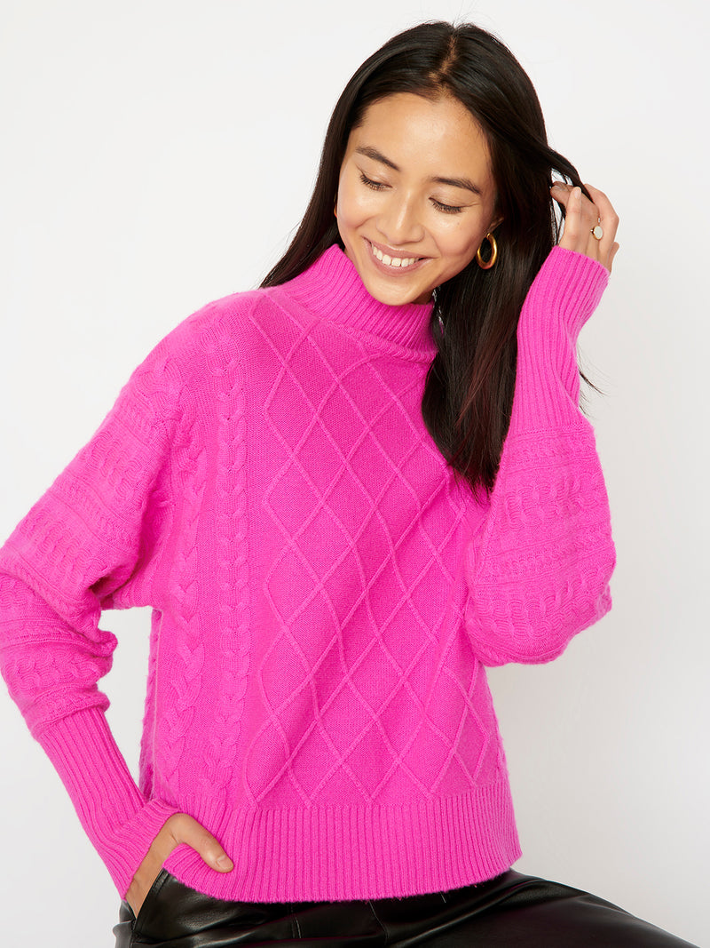 Holly Cerise Jumper