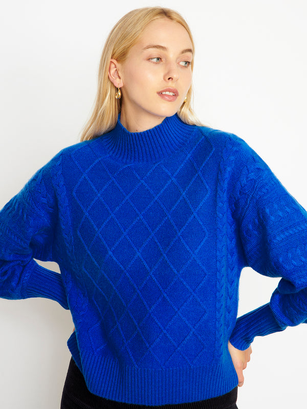 Holly Electric Blue Jumper
