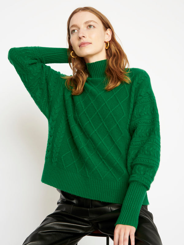 Holly Forest Green Jumper