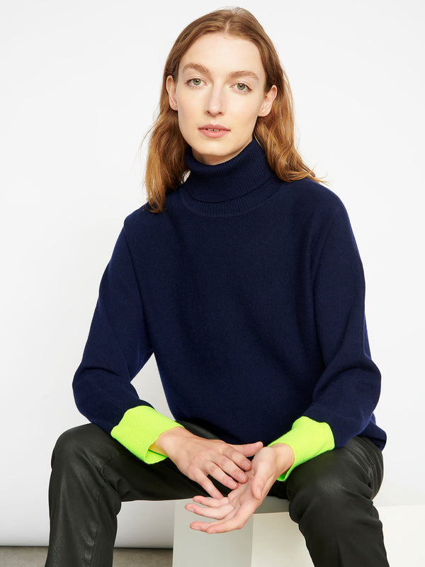 Sloan Navy Jumper