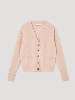 Stevie Oatmeal Cardigan