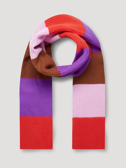 Kaia Dark Purple Scarf