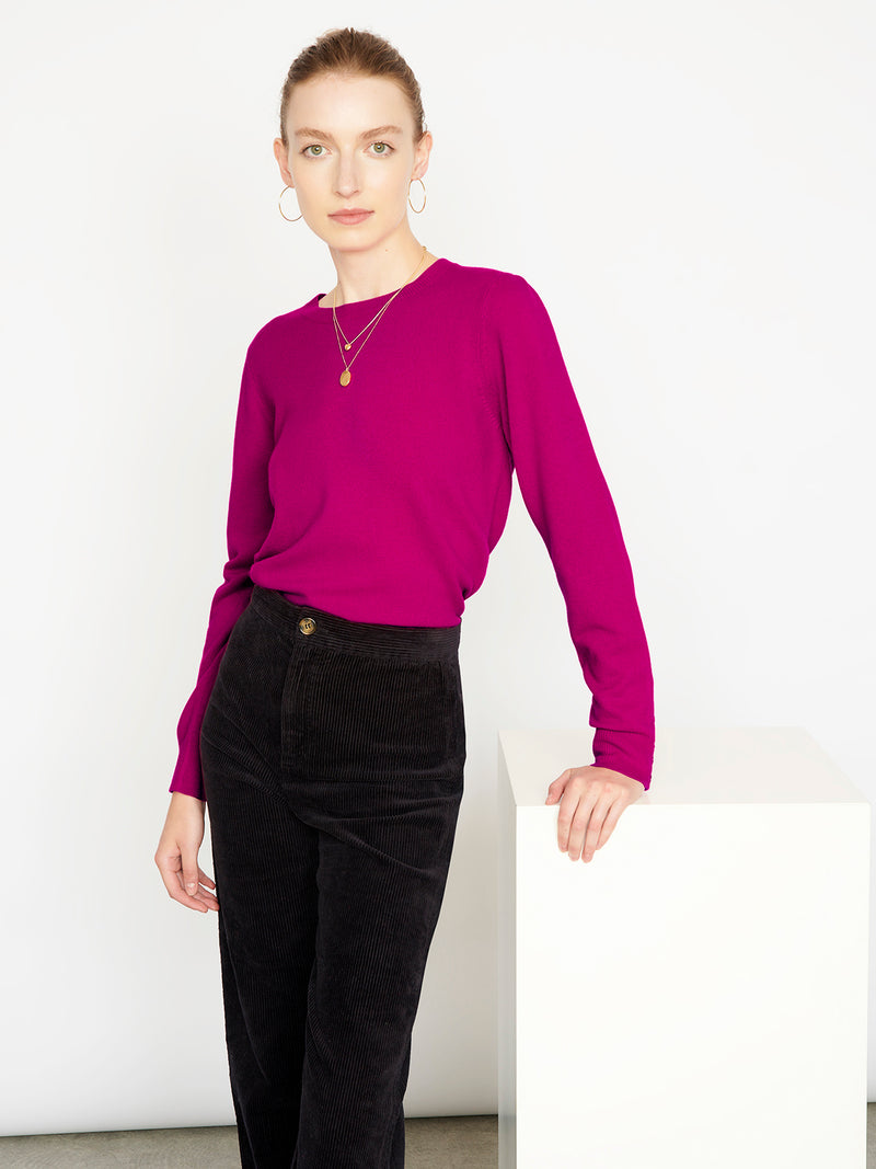 Essential Frida Crew Neck Cashmere Jumper