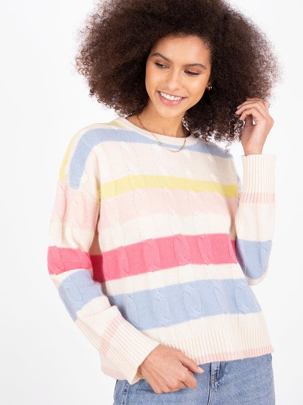 Hailey Stripe Jumper