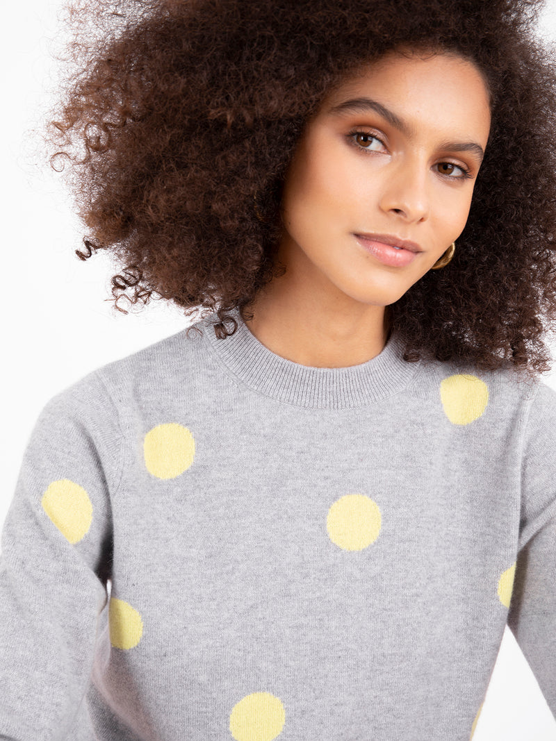 Fable Grey Jumper