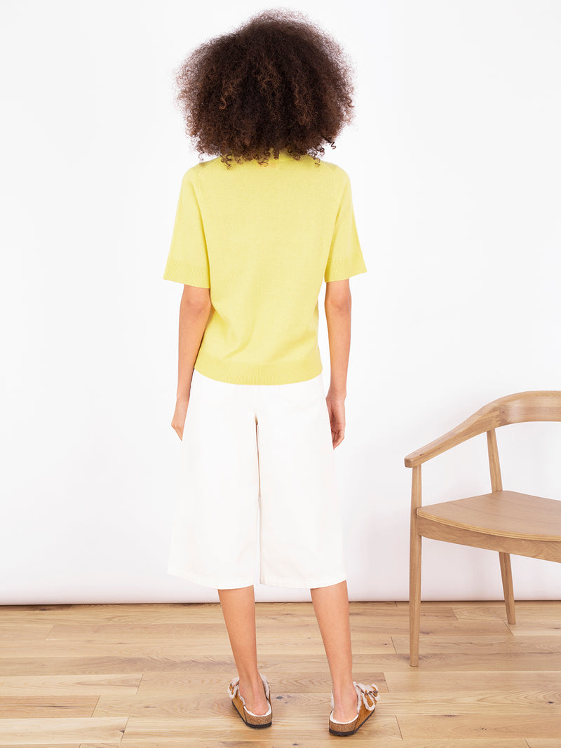 Essential Lemon Sherbert Plain T-Shirt