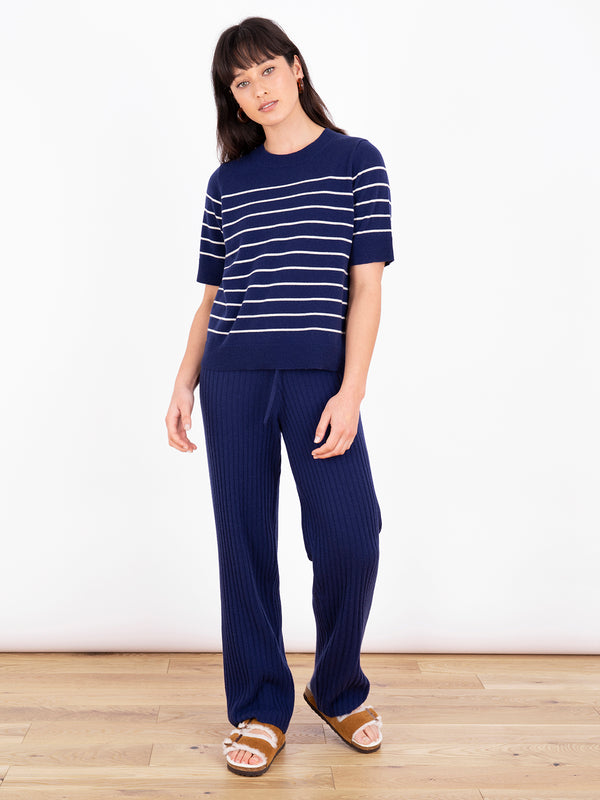 Essential French Navy Stripe T-Shirt