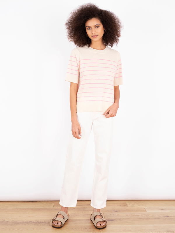 Essential Floss Pink Stripe T-Shirt