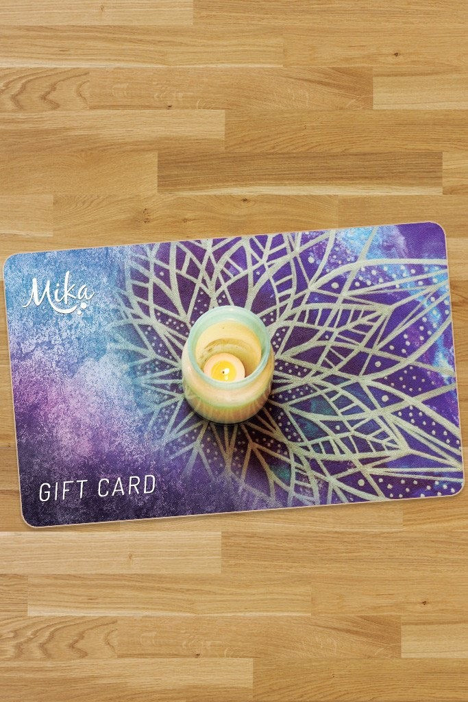 Physical Gift Cards - Gift Card - Mika Yoga Wear