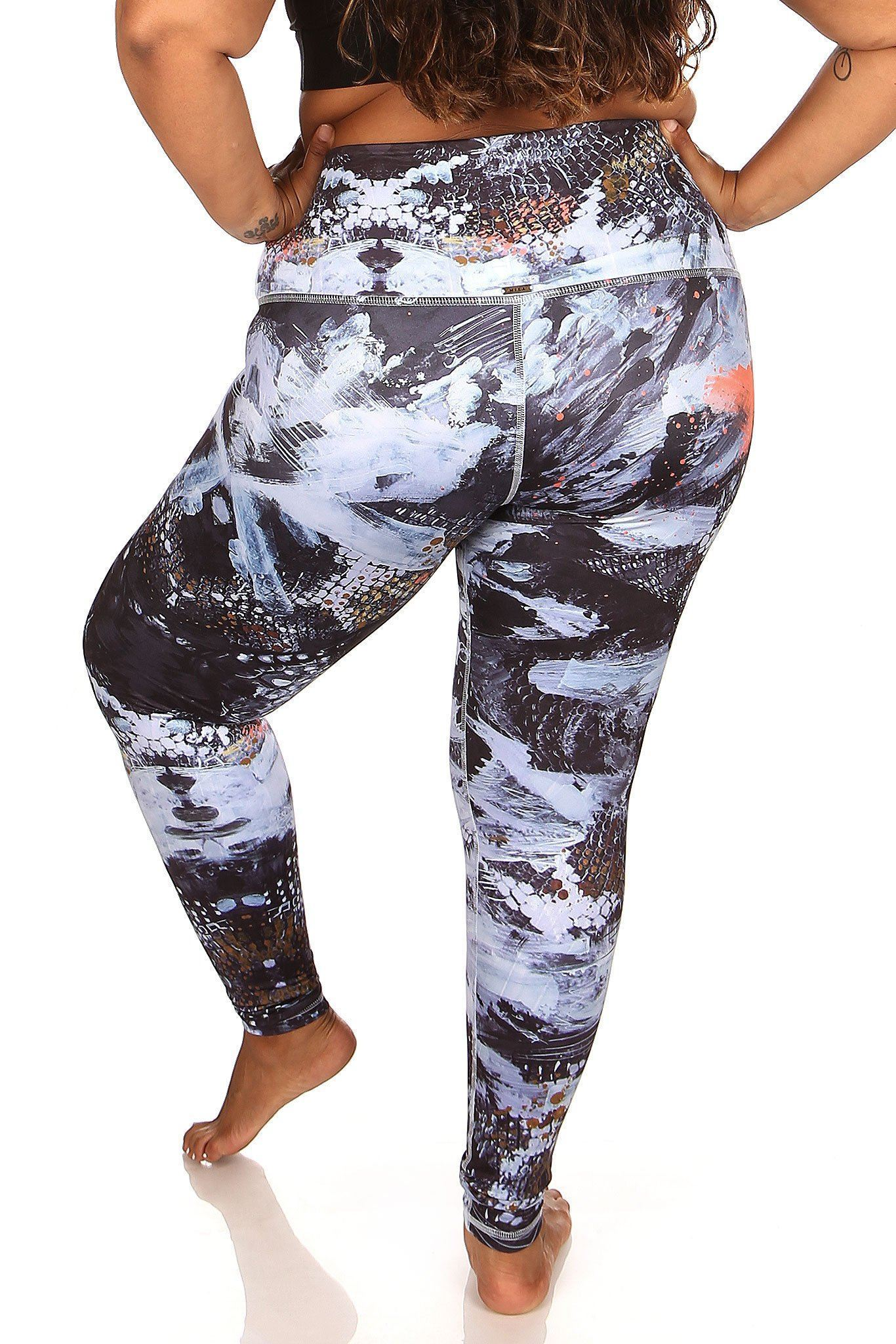 Kaya Legging - High Waisted - Last Chance SALE - Leggings - Mika Yoga Wear