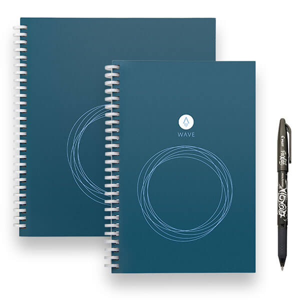 Rocketbook Wave in 2 sizes with pen
