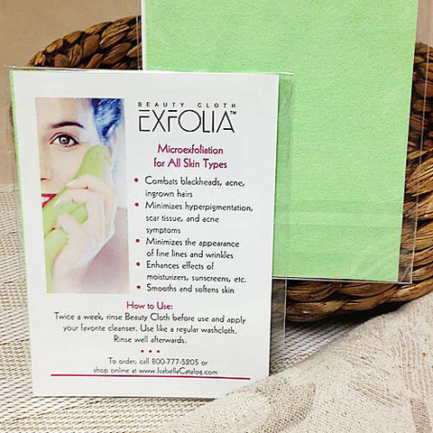 Exfolia Beauty Cloth Sampler - Isabella: Gifts with Spirit