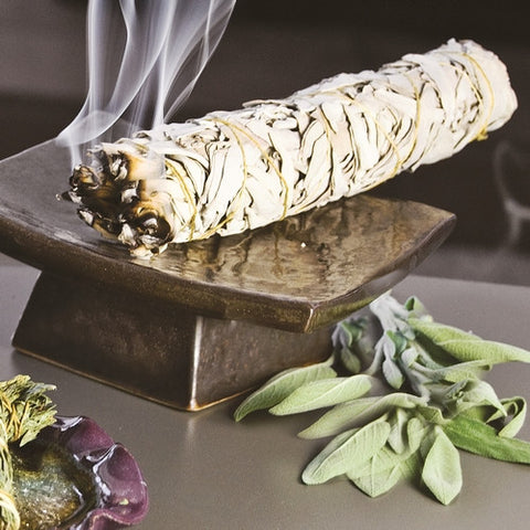 White Sage Wildcrafted Smudge Stick - Isabella: Gifts with Spirit