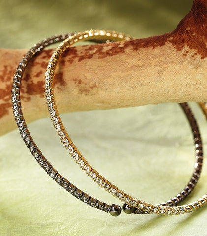 Grey Sparkler Bracelet - Isabella: Gifts with Spirit