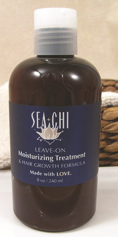 Sea-Chi Organic Moisturizing Treatment & Hair Growth 8 oz - Isabella: Gifts with Spirit