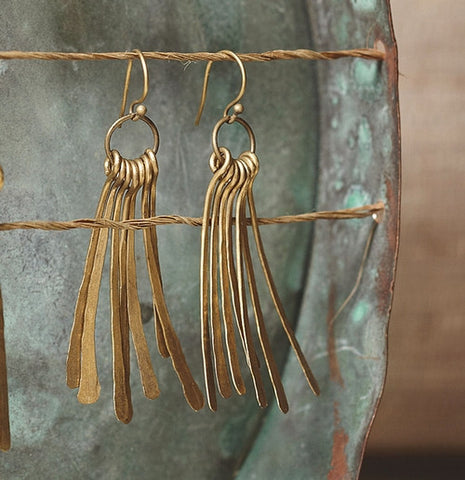 Seven Feather Earrings - Isabella: Gifts with Spirit