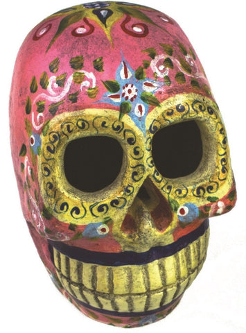 Sugar Skull-Pink Large - Isabella: Gifts with Spirit