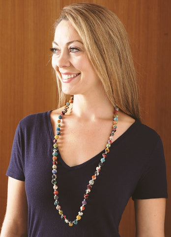 Sari Serenade Necklace - Isabella: Gifts with Spirit