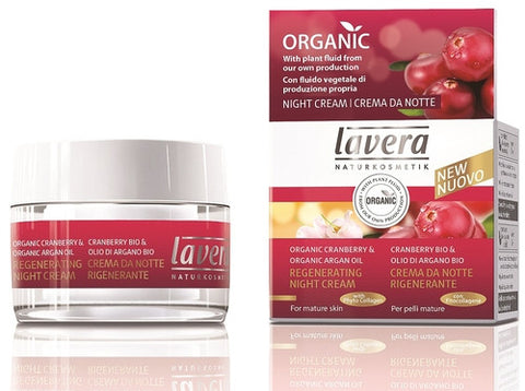 Lavera Organic Regenerating Night Cream - Isabella: Gifts with Spirit