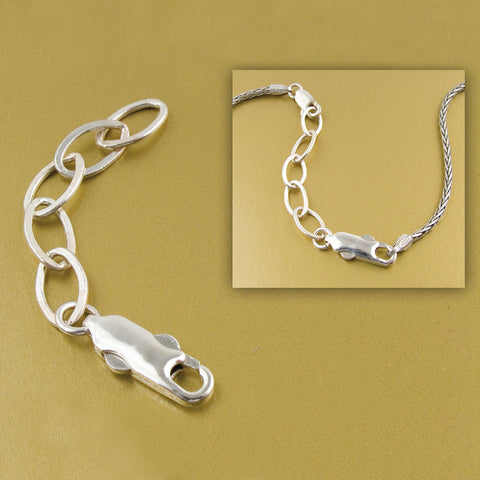 Necklace Extender - Sterling Silver - Isabella Catalog