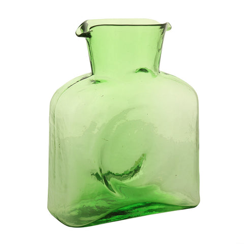 Blenko Glass Pitcher - Green - Isabella Catalog