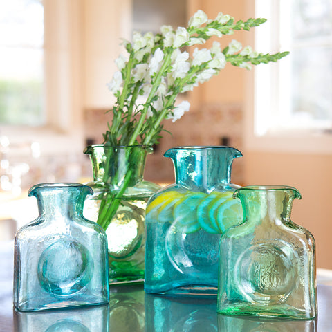 Blenko Glass Pitcher - Blue