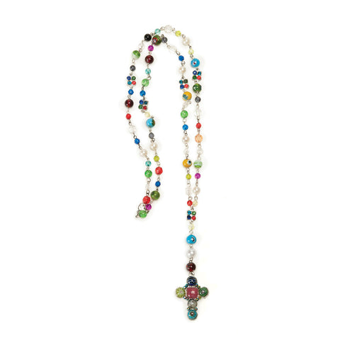 Boho Cross Necklace - Isabella: Gifts with Spirit
