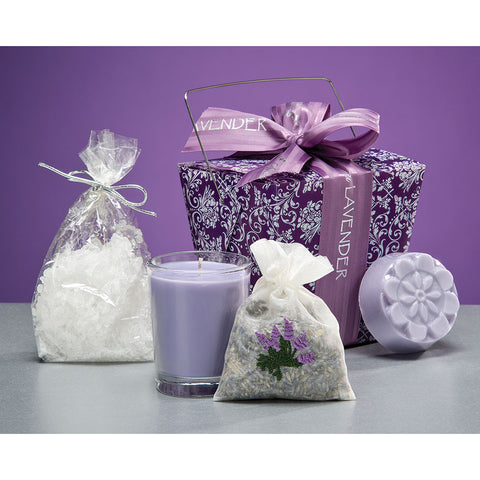 Lavender Take-Out Box - Isabella: Gifts with Spirit