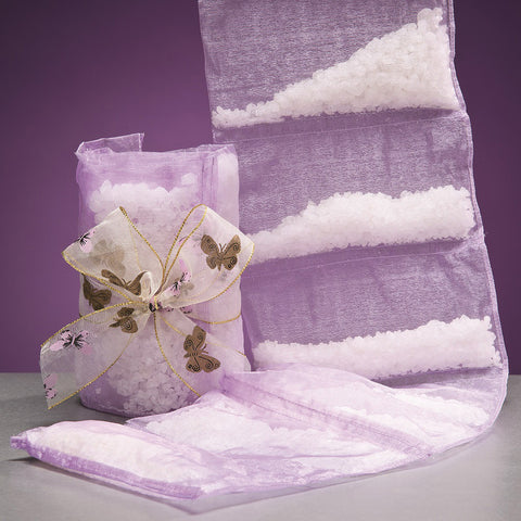 Lavender Bath Salt Sachets by the Yard - Isabella Catalog