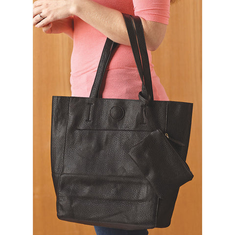 the perfect purse tote - black - Isabella: Gifts with Spirit