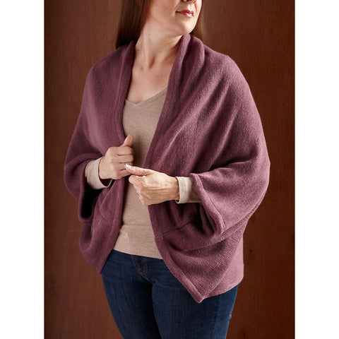 The Perfect Soft Snuggly Wrap - Purple