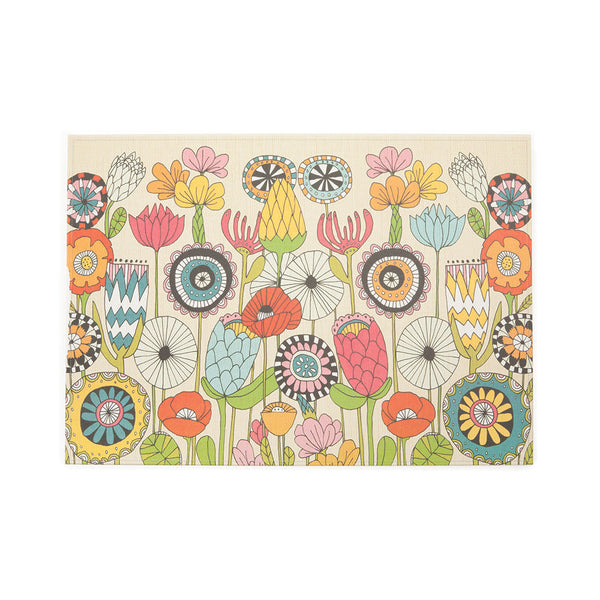 From the Garden Paper Placemats Isabella