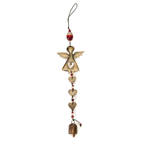 Angel Heart Wind Chime - Isabella Catalog