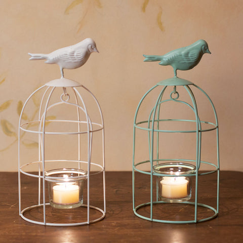 Birdcage Candle Holders - Isabella: Gifts with Spirit - 1