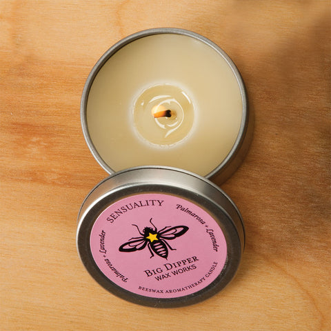 Aromatherapy Candle - Sensuality - Isabella: Gifts with Spirit