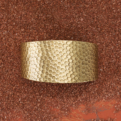 Hammered Brass Cuff - Isabella: Gifts with Spirit