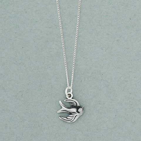 Sparrow Charm Necklace - Isabella: Gifts with Spirit