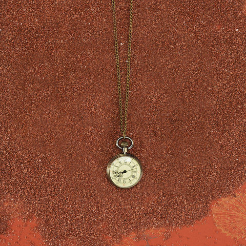 Vintage Style Watch Necklace - Isabella: Gifts with Spirit