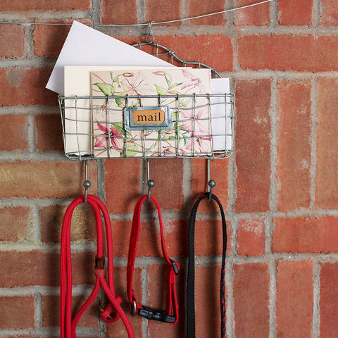Mail Organizer with Hooks - Isabella: Gifts with Spirit - 1