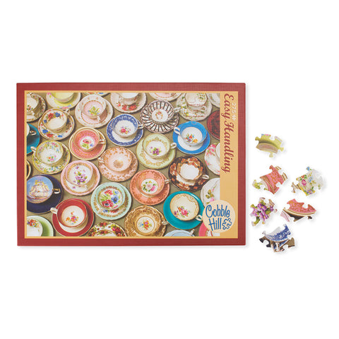 Teatime Cups and Saucers Puzzle - Isabella: Gifts with Spirit