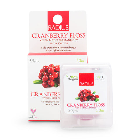 Natural Cranberry Floss - Set of 2